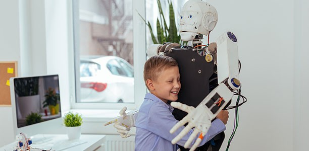 Robotic companion for childcare