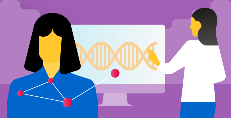 Genetic profiling and genomic data used in healthcare to aid in disease prevention, diagnostics and treatment